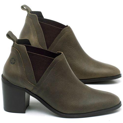 Laranja_Lima_Shoes_Sapatos_Femininos_Bota_Cano_Curto_Salto_de_75_cm_em_Couro_Verde_-_Codigo_-_56194_1