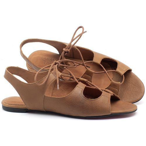 Laranja_Lima_Shoes_Sapatos_Femininos_Sandalia_Rasteira_Flat_em_Couro_Caramelo_-_Codigo_-_56173_1