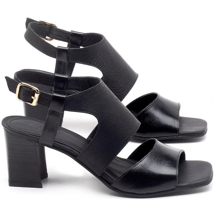 Laranja_Lima_Shoes_Sapatos_Femininos_Sandalia_Laranja_Lima_Shoes_Classic_Salto_de_6_cm_em_Couro_Preto_-_Codigo_-_56179_1