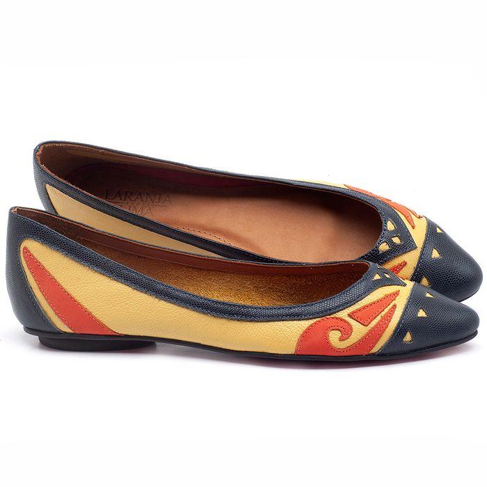Laranja_Lima_Shoes_Sapatos_Femininos_Sapatilha_Bico_Fino_em_Couro_Colorido_-_Codigo_-_56175_1