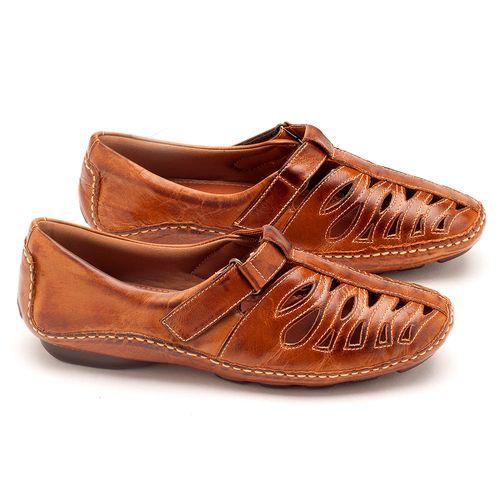 Laranja_Lima_Shoes_Sapatos_Femininos_Tenis_Cano_Baixo_em_Couro_Caramelo_-_Codigo_-_136012_1