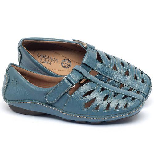 Laranja_Lima_Shoes_Sapatos_Femininos_Tenis_Cano_Baixo_em_Couro_Azul_-_Codigo_-_136012_1