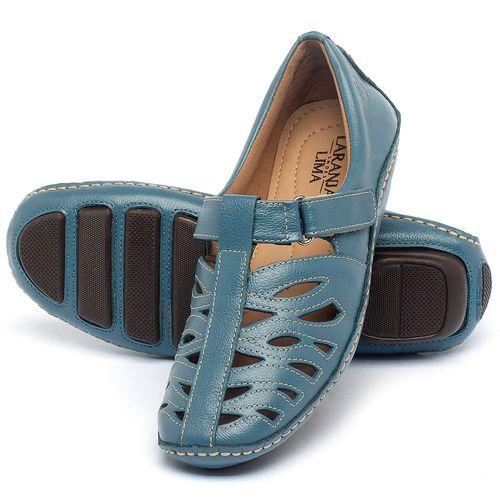 Laranja_Lima_Shoes_Sapatos_Femininos_Tenis_Cano_Baixo_em_Couro_Azul_-_Codigo_-_136012_2