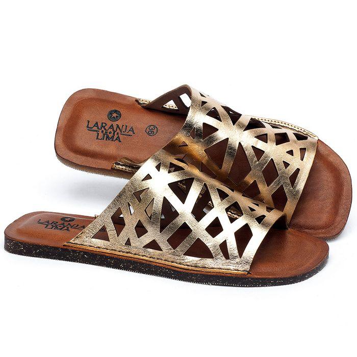 Laranja_Lima_Shoes_Sapatos_Femininos_Sandalia_Rasteira_Flat_em_Couro_Metalizado_-_Codigo_-_141161_1