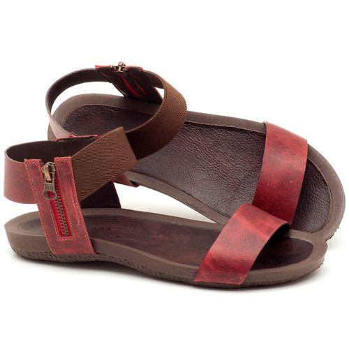 Laranja_Lima_Shoes_Sapatos_Femininos_Sandalia_Rasteira_Flat_em_Couro_Vermelho_-_Codigo_-_56141_1