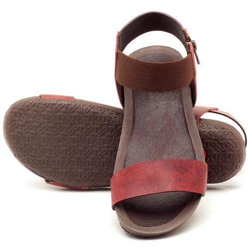 Laranja_Lima_Shoes_Sapatos_Femininos_Sandalia_Rasteira_Flat_em_Couro_Vermelho_-_Codigo_-_56141_2