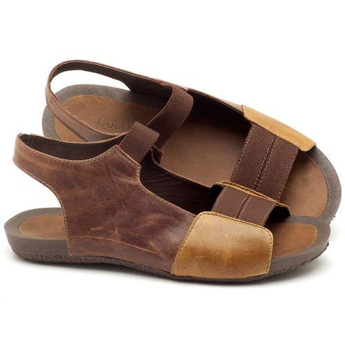 Laranja_Lima_Shoes_Sapatos_Femininos_Sandalia_Rasteira_Flat_em_Couro_Marrom_-_Codigo_-_56142_1