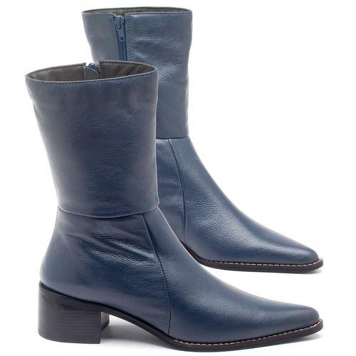 Laranja_Lima_Shoes_Sapatos_Femininos_Bota_Cano_Medio_Salto_de_5_cm_em_Couro_Azul_-_Codigo_-_56163_4