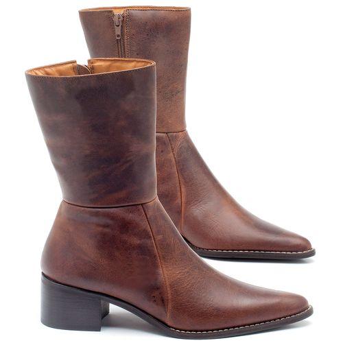 Laranja_Lima_Shoes_Sapatos_Femininos_Bota_Cano_Medio_Salto_de_5_cm_em_Couro_Marrom_-_Codigo_-_56163_4