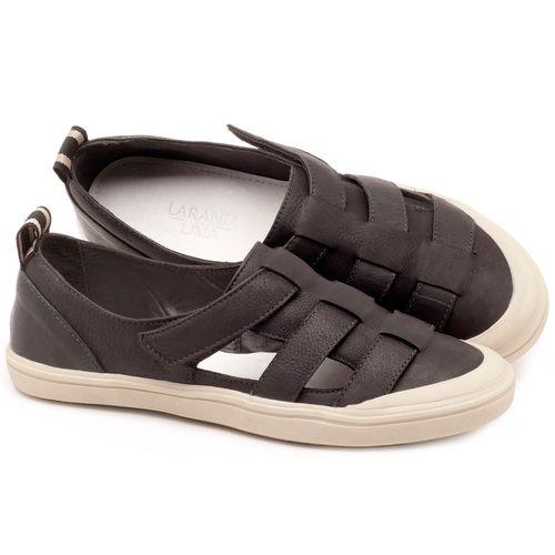 Laranja_Lima_Shoes_Sapatos_Femininos_Tenis_Cano_Baixo_em_Couro_Preto_-_Codigo_-_56165_1
