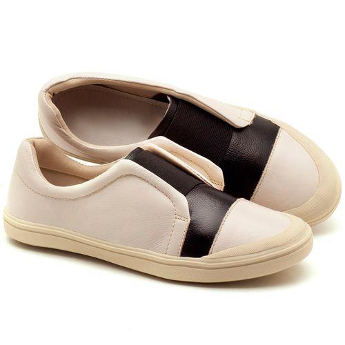 Laranja_Lima_Shoes_Sapatos_Femininos_Tenis_Cano_Baixo_em_Couro_Off-White_-_Codigo_-_56172_1