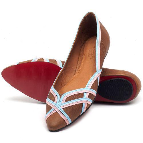 Laranja_Lima_Shoes_Sapatos_Femininos_Sapatilha_Bico_Fino_em_Couro_Caramelo_-_Codigo_-_56176_2