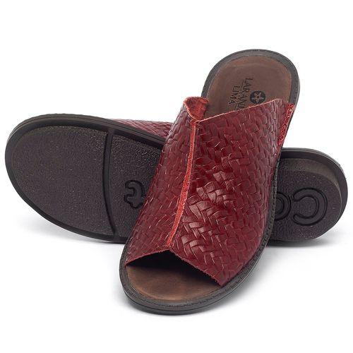 Laranja_Lima_Shoes_Sapatos_Femininos_Sandalia_Rasteira_Flat_em_Couro_Vermelho_-_Codigo_-_139043_2