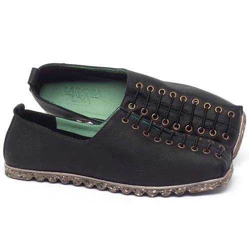 Laranja_Lima_Shoes_Sapatos_Femininos_Sapatilha_Bico_Quadrado_em_Couro_Preto_-_Codigo_-_145051_1
