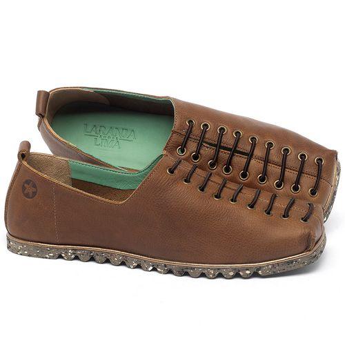 Laranja_Lima_Shoes_Sapatos_Femininos_Sapatilha_Bico_Quadrado_em_Couro_Caramelo_-_Codigo_-_145051_1