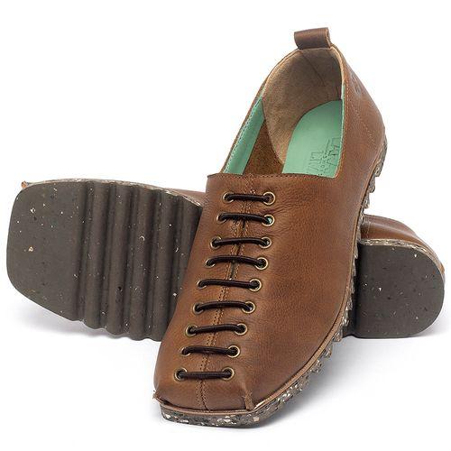 Laranja_Lima_Shoes_Sapatos_Femininos_Sapatilha_Bico_Quadrado_em_Couro_Caramelo_-_Codigo_-_145051_2