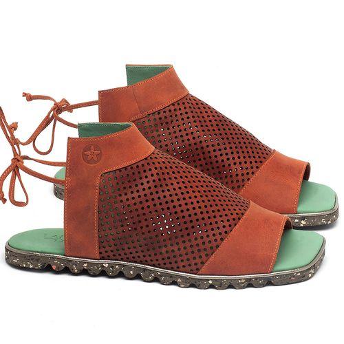 Laranja_Lima_Shoes_Sapatos_Femininos_Sandalia_Rasteira_Flat_em_Couro_Laranja_-_Codigo_-_145052_1
