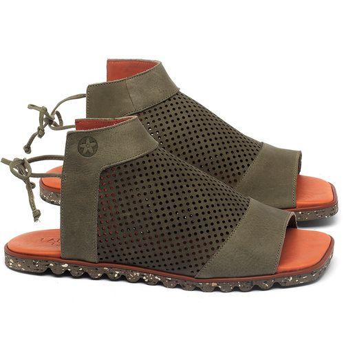 Laranja_Lima_Shoes_Sapatos_Femininos_Sandalia_Rasteira_Flat_em_Couro_Verde_-_Codigo_-_145052_1