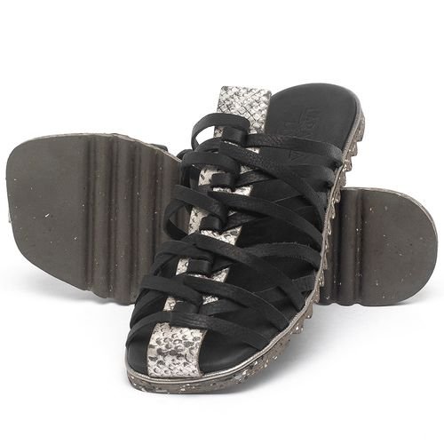 Laranja_Lima_Shoes_Sapatos_Femininos_Sandalia_Rasteira_Flat_em_Couro_Preto_-_Codigo_-_145053_2