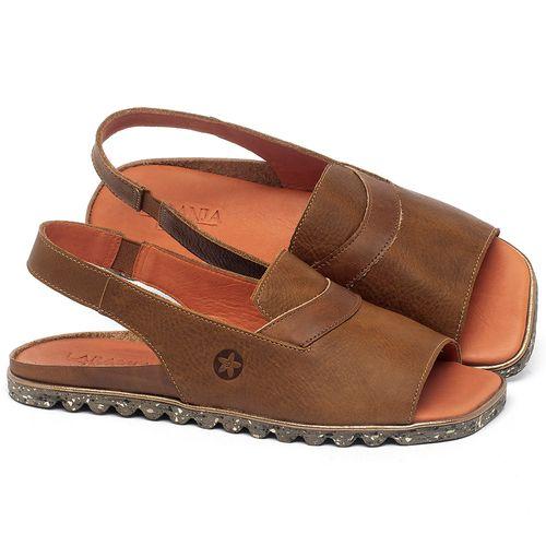 Laranja_Lima_Shoes_Sapatos_Femininos_Sandalia_Rasteira_Flat_em_Couro_Caramelo_-_Codigo_-_145057_1