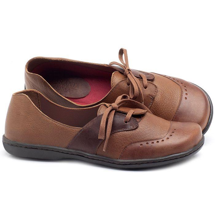 Laranja_Lima_Shoes_Sapatos_Femininos_Oxford_Laranja_Lima_Shoes_em_Couro_Bicolor_-_Codigo_-_56084_1