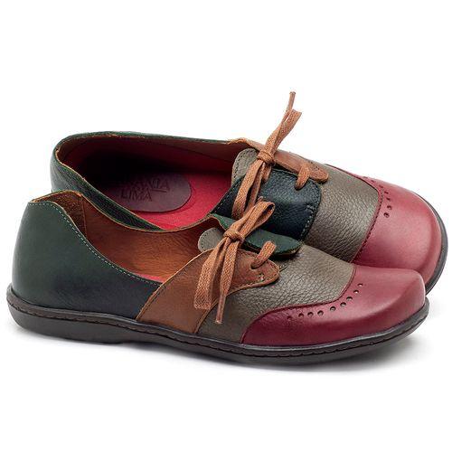 Laranja_Lima_Shoes_Sapatos_Femininos_Oxford_Laranja_Lima_Shoes_em_Couro_Multicolor_-_Codigo_-_56084_1