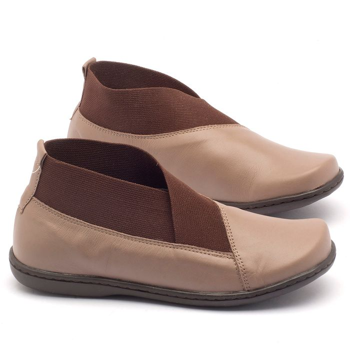 Laranja_Lima_Shoes_Sapatos_Femininos_Flat_Boot_em_Couro_Bicolor_-_Codigo_-_56086_1