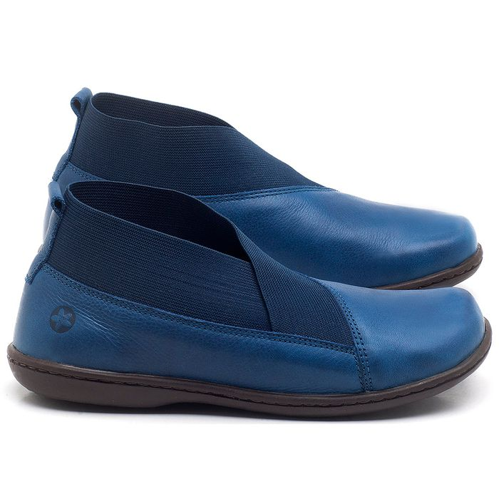 Laranja_Lima_Shoes_Sapatos_Femininos_Flat_Boot_em_Couro_Azul_-_Codigo_-_56086_1