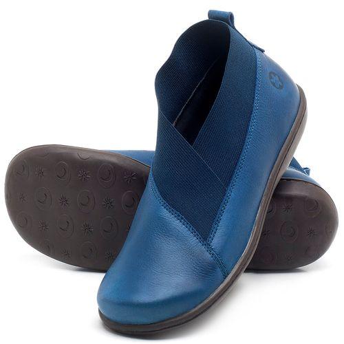 Laranja_Lima_Shoes_Sapatos_Femininos_Flat_Boot_em_Couro_Azul_-_Codigo_-_56086_2