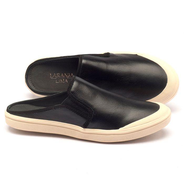 Laranja_Lima_Shoes_Sapatos_Femininos_Tenis_Cano_Baixo_em_Couro_Preto_-_Codigo_-_56111_1