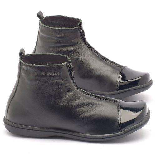 Laranja_Lima_Shoes_Sapatos_Femininos_Flat_Boot_em_Couro_Preto_-_Codigo_-_56132_1