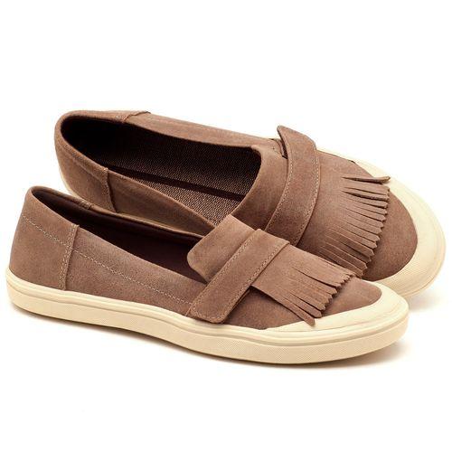 Laranja_Lima_Shoes_Sapatos_Femininos_Tenis_Cano_Baixo_em_Couro_Fendi_-_Codigo_-_56149_1