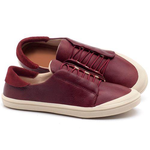 Laranja_Lima_Shoes_Sapatos_Femininos_Tenis_Cano_Baixo_em_Couro_Vinho_-_Codigo_-_56182_1