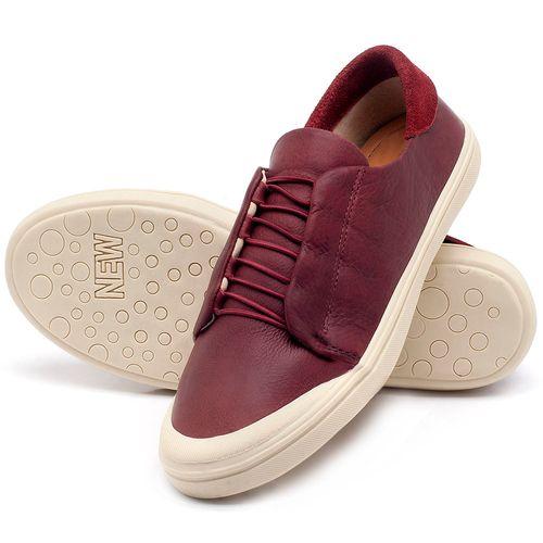 Laranja_Lima_Shoes_Sapatos_Femininos_Tenis_Cano_Baixo_em_Couro_Vinho_-_Codigo_-_56182_2