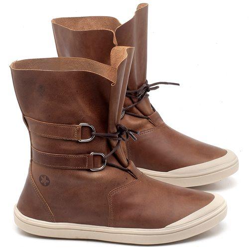 Laranja_Lima_Shoes_Sapatos_Femininos_Tenis_Cano_Alto_em_Couro_Caramelo_-_Codigo_-_56195_1