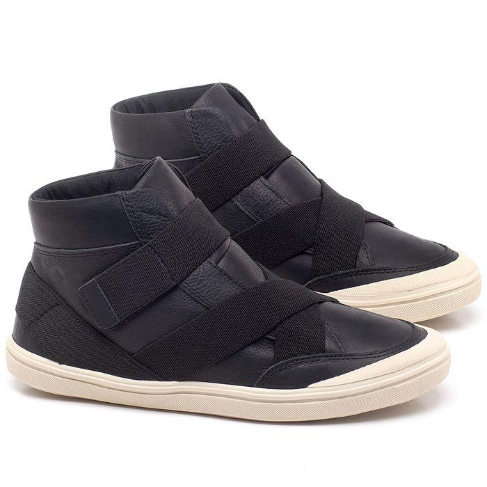 Laranja_Lima_Shoes_Sapatos_Femininos_Tenis_Cano_Alto_em_Couro_Preto_-_Codigo_-_56200_1