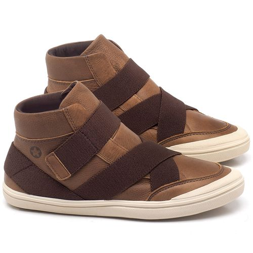 Laranja_Lima_Shoes_Sapatos_Femininos_Tenis_Cano_Alto_em_Couro_Caramelo_-_Codigo_-_56200_1
