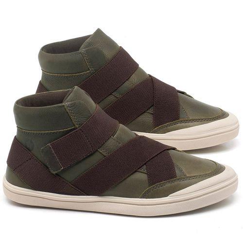 Laranja_Lima_Shoes_Sapatos_Femininos_Tenis_Cano_Alto_em_Couro_Verde_-_Codigo_-_56200_1