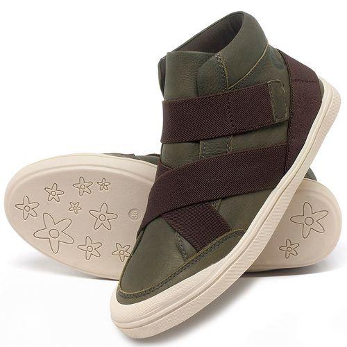 Laranja_Lima_Shoes_Sapatos_Femininos_Tenis_Cano_Alto_em_Couro_Verde_-_Codigo_-_56200_2