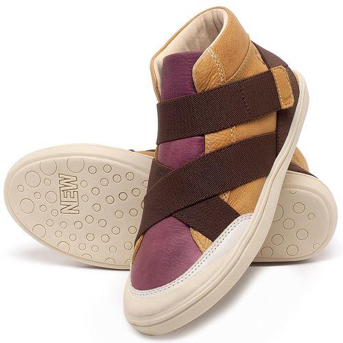 Laranja_Lima_Shoes_Sapatos_Femininos_Tenis_Cano_Alto_em_Couro_Multicolor_-_Codigo_-_56200_2