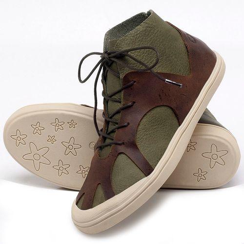 Laranja_Lima_Shoes_Sapatos_Femininos_Tenis_Cano_Alto_em_Couro_Verde_-_Codigo_-_56201_2