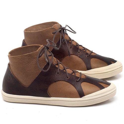 Laranja_Lima_Shoes_Sapatos_Femininos_Tenis_Cano_Alto_em_Couro_Caramelo_-_Codigo_-_56201_1