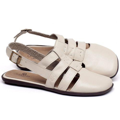 Laranja_Lima_Shoes_Sapatos_Femininos_Sapatilha_Bico_Quadrado_em_Couro_Off-White_-_Codigo_-_9478_1