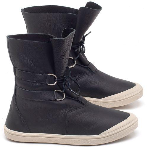 Laranja_Lima_Shoes_Sapatos_Femininos_Tenis_Cano_Alto_em_Couro_Preto_-_Codigo_-_56195_1