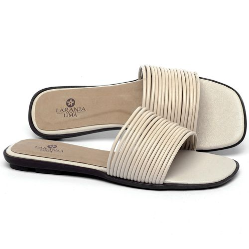 Laranja_Lima_Shoes_Sapatos_Femininos_Sandalia_Rasteira_Flat_em_Couro_Off-White_-_Codigo_-_9480_1