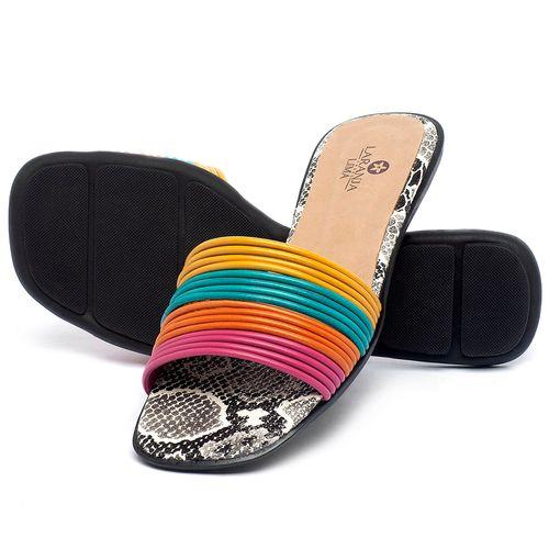 Laranja_Lima_Shoes_Sapatos_Femininos_Sandalia_Rasteira_Flat_em_Couro_Colorido_-_Codigo_-_9480_2