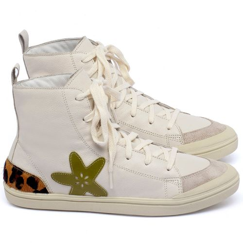 Laranja_Lima_Shoes_Sapatos_Femininos_Tenis_Cano_Alto_em_Couro_Off-White_-_Codigo_-_56211_1
