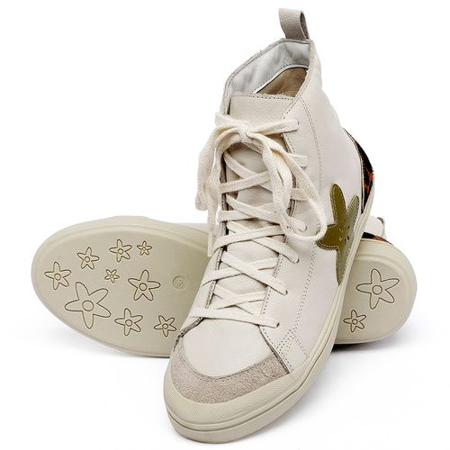 Laranja_Lima_Shoes_Sapatos_Femininos_Tenis_Cano_Alto_em_Couro_Off-White_-_Codigo_-_56211_2