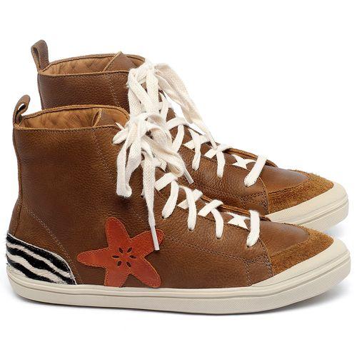 Laranja_Lima_Shoes_Sapatos_Femininos_Tenis_Cano_Alto_em_Couro_Caramelo_-_Codigo_-_56211_1