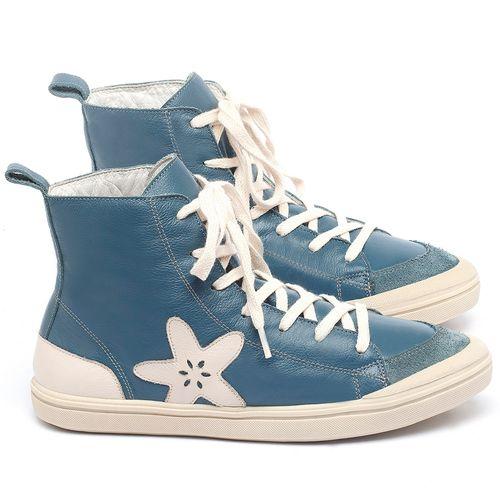 Laranja_Lima_Shoes_Sapatos_Femininos_Tenis_Cano_Alto_em_Couro_Azul_-_Codigo_-_56211_1